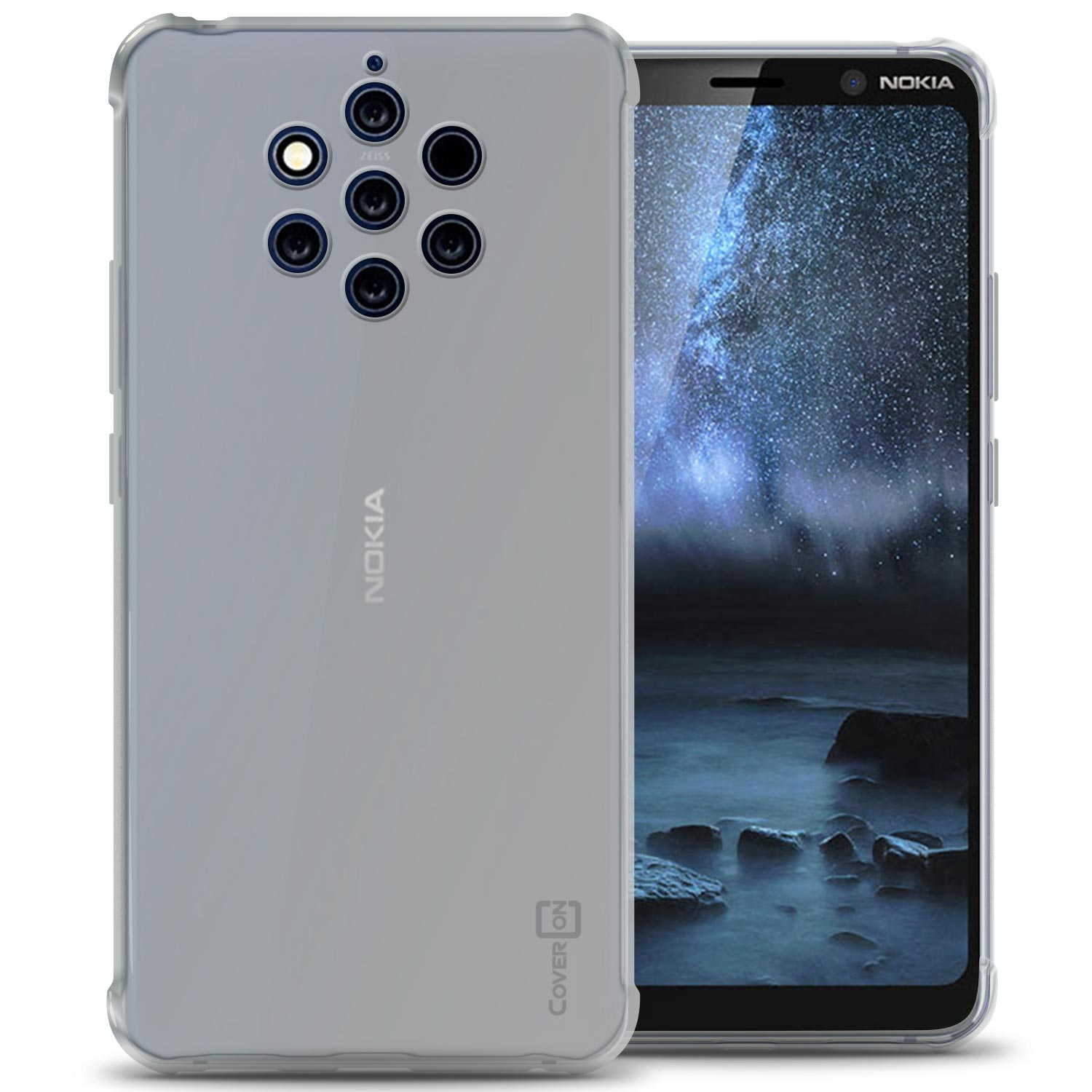 100% authentic bd397 68673 Details about Clear Case For Nokia 9 PureView Flexible TPU Rubber Gel Slim  Phone Cover