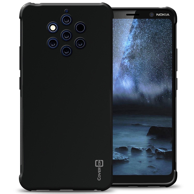 wholesale dealer 5076e f4e1d Details about Black Case For Nokia 9 PureView Flexible TPU Rubber Gel Slim  Phone Cover