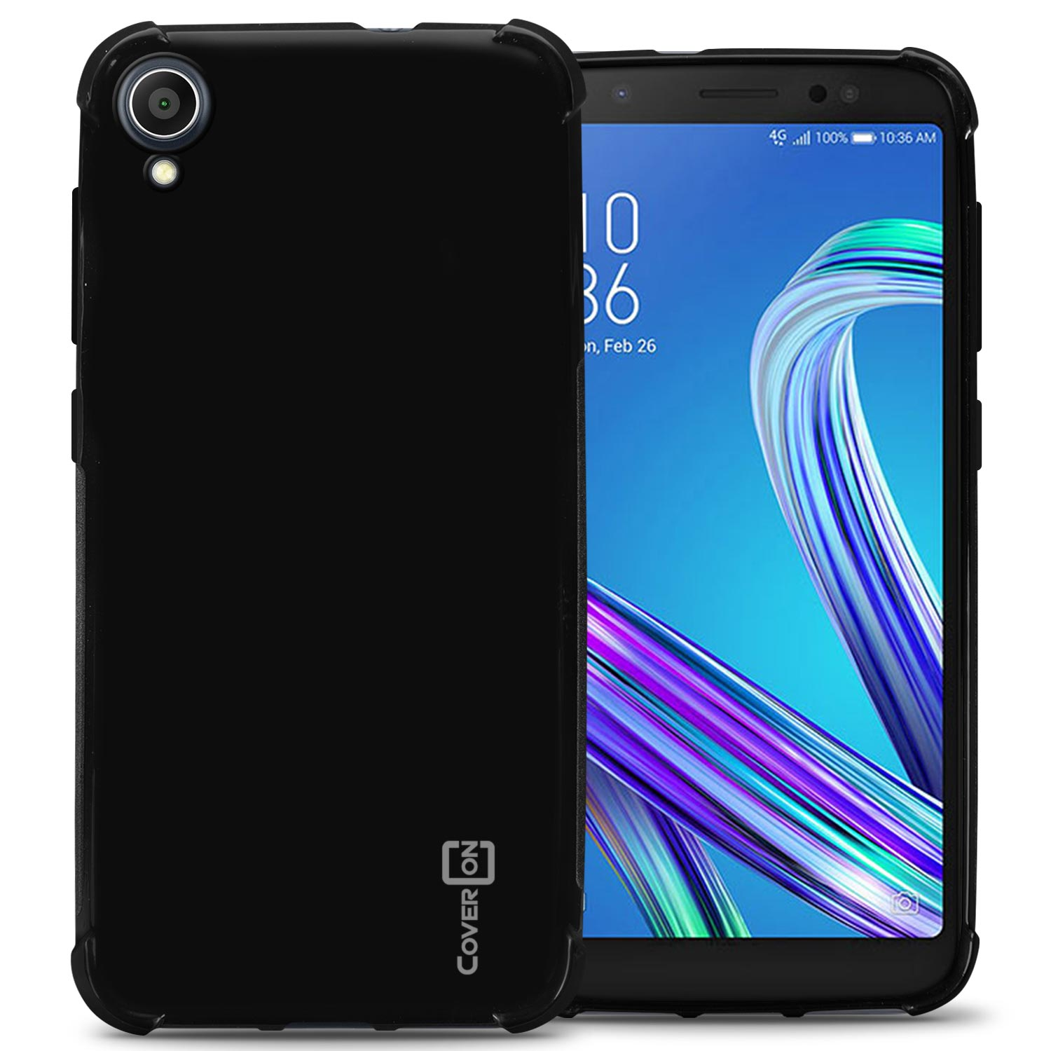 half off c200b 98205 Details about Black Case For Asus Zenfone Live L1 ZA550KL Flexible TPU  Rubber Gel Phone Cover
