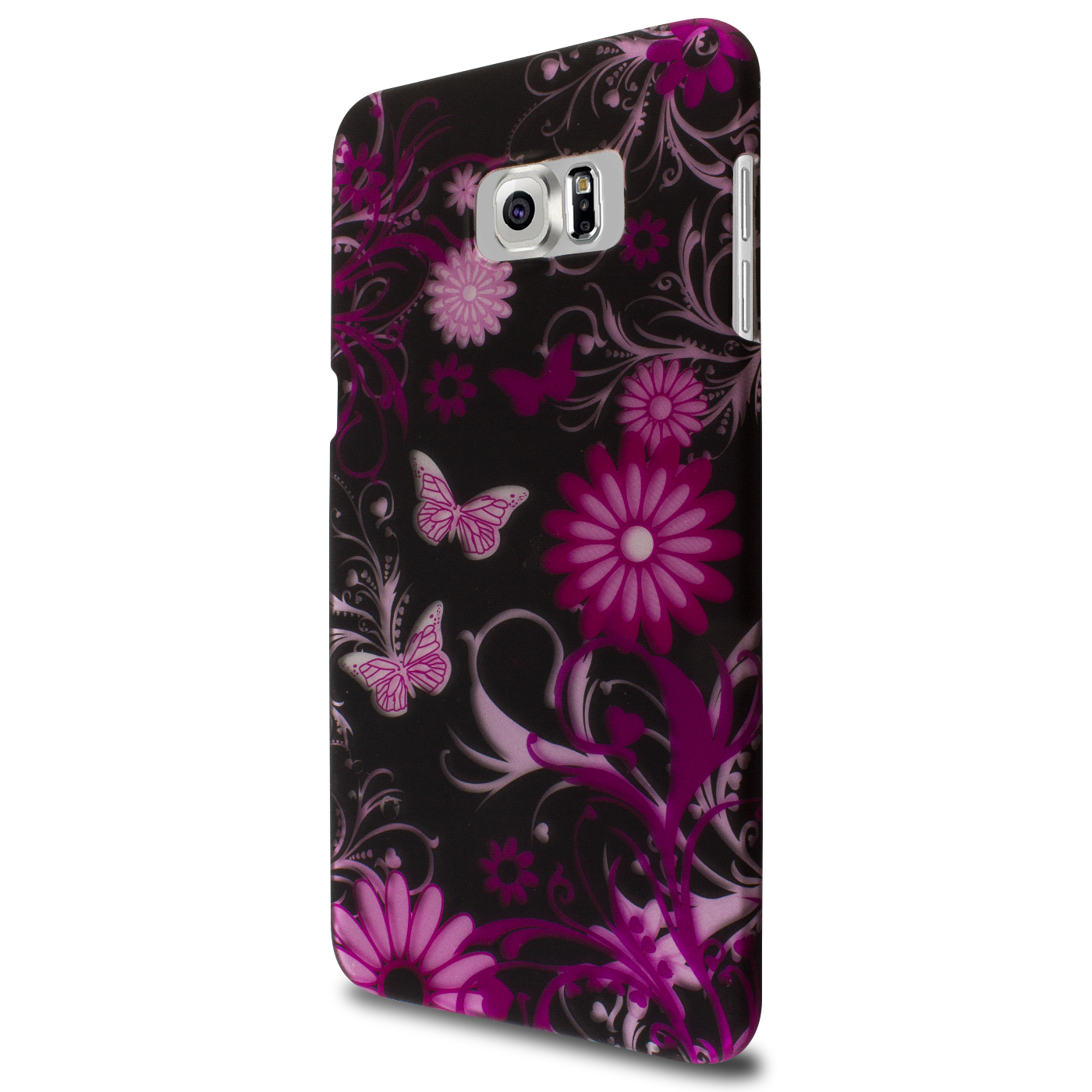 watch d4602 aa959 Details about Hard Case for Samsung Galaxy S6 Edge+ Plus Pink Butterfly  Design Slim Back Cover