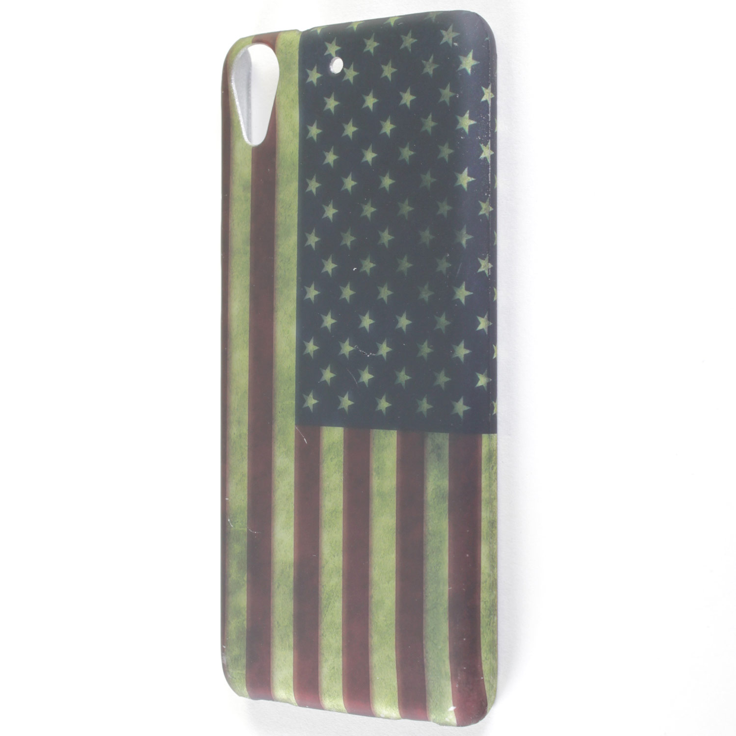 best sneakers 20262 2e50a Details about For HTC Desire 626 / 626S Case - American Flag Hard Phone  Slim Protective Cover