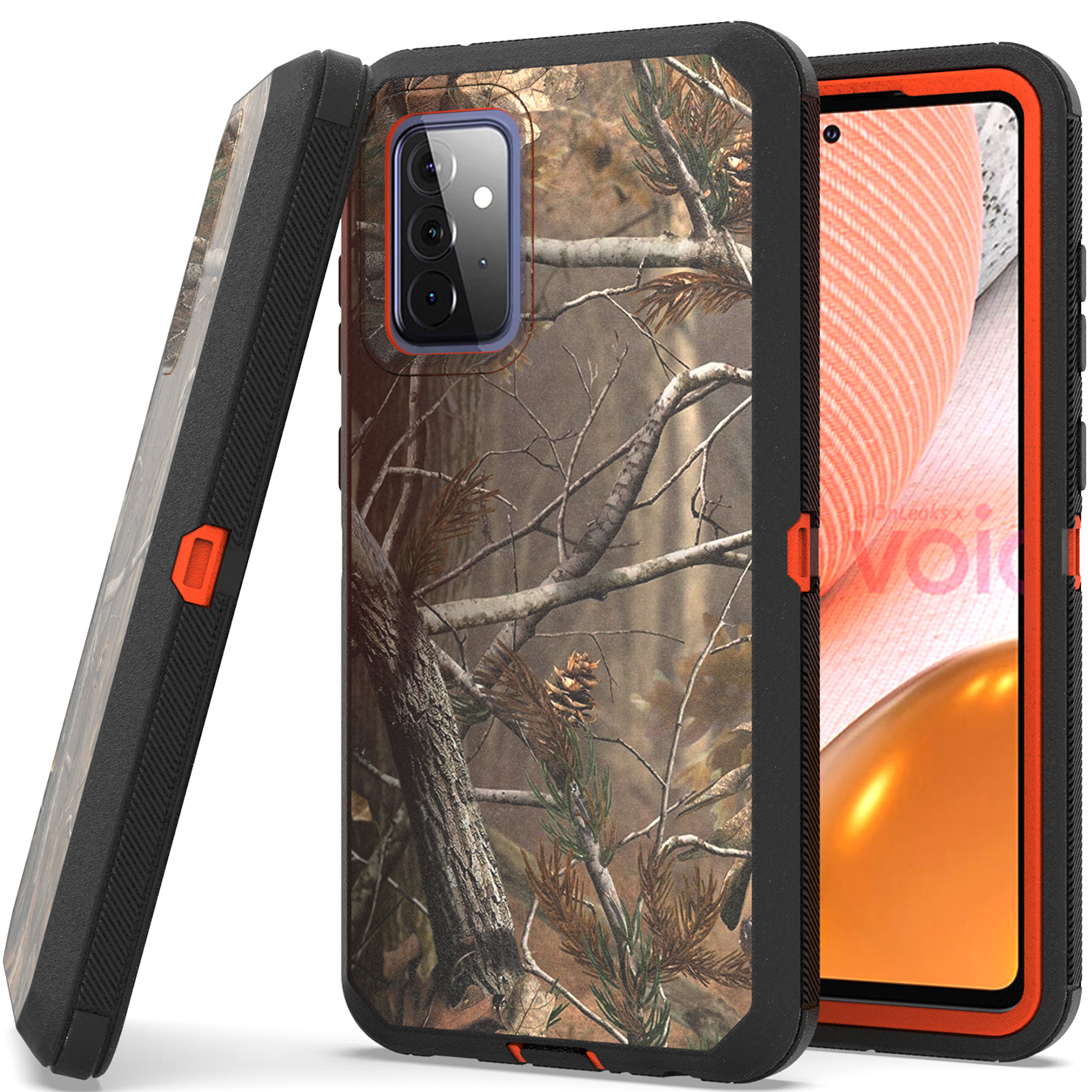 uk availability e8702 aace7 Details about Black Belt Clip Holster Phone Cover Shockproof Case for  Huawei Mate 10 Pro