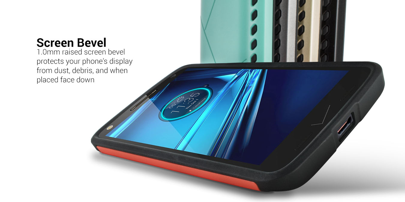 innovative design 2433e 27fab Details about CoverON® for HTC One A9 Case - Hard Slim Fit Hybrid  Protective Back Phone Cover