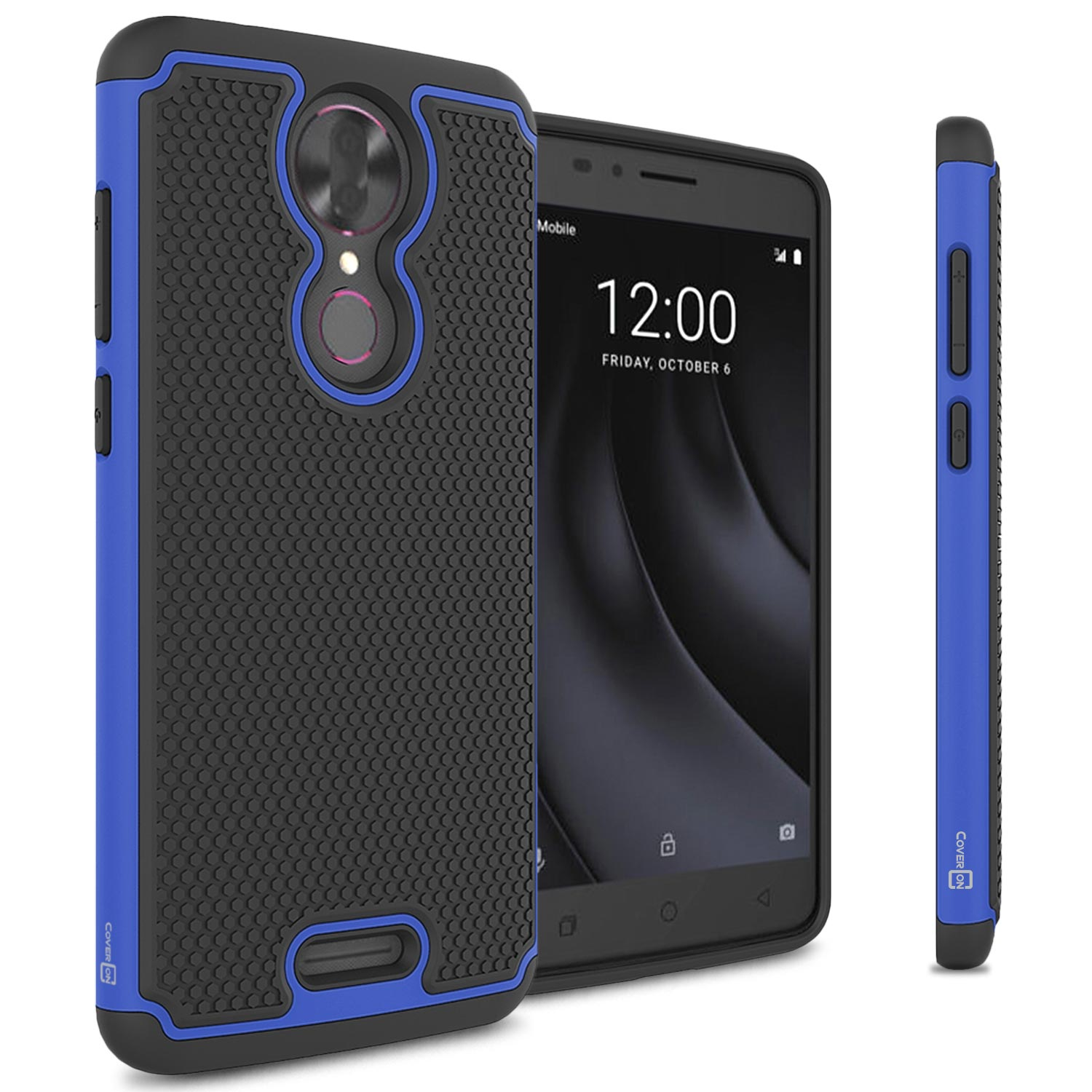 reputable site 98df4 3eed3 For Coolpad T-Mobile REVVL Plus Case Tough Protective Hard Hybrid ...