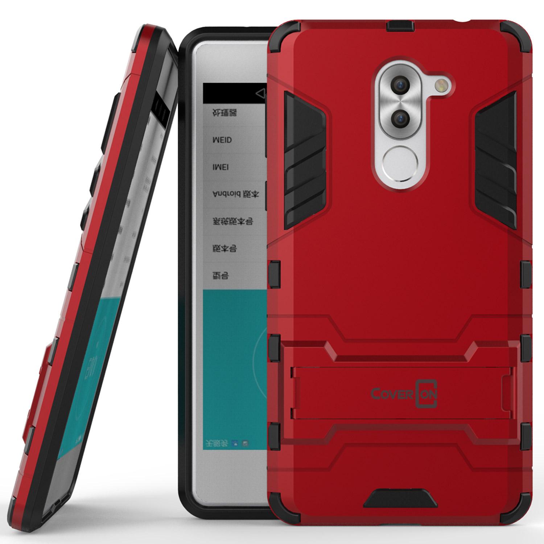 the best attitude c99a8 2d9d3 For Huawei Honor 6X / Mate 9 Lite Slim Kickstand Case Hybrid Phone ...