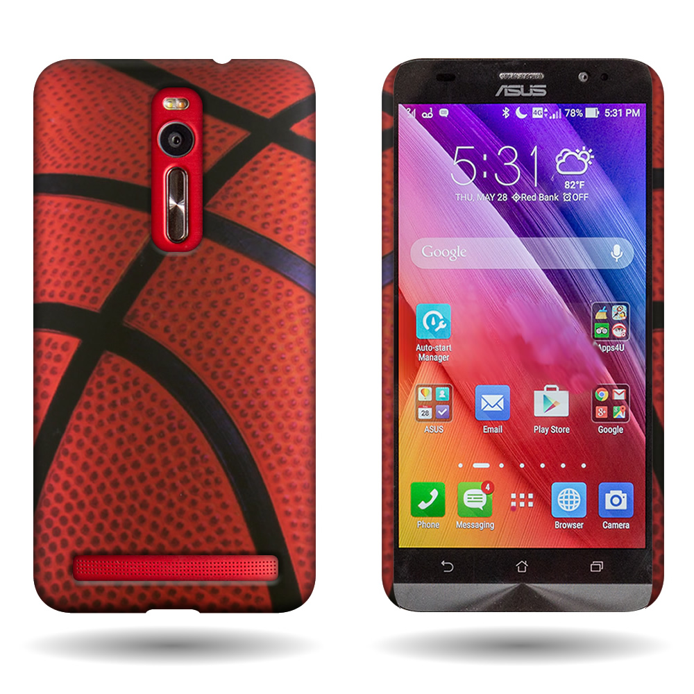official photos 30785 5ab4e Details about Hard Phone Case for Asus Zenfone 2 (5.5) Basketball Slim Snap  On Back Cover