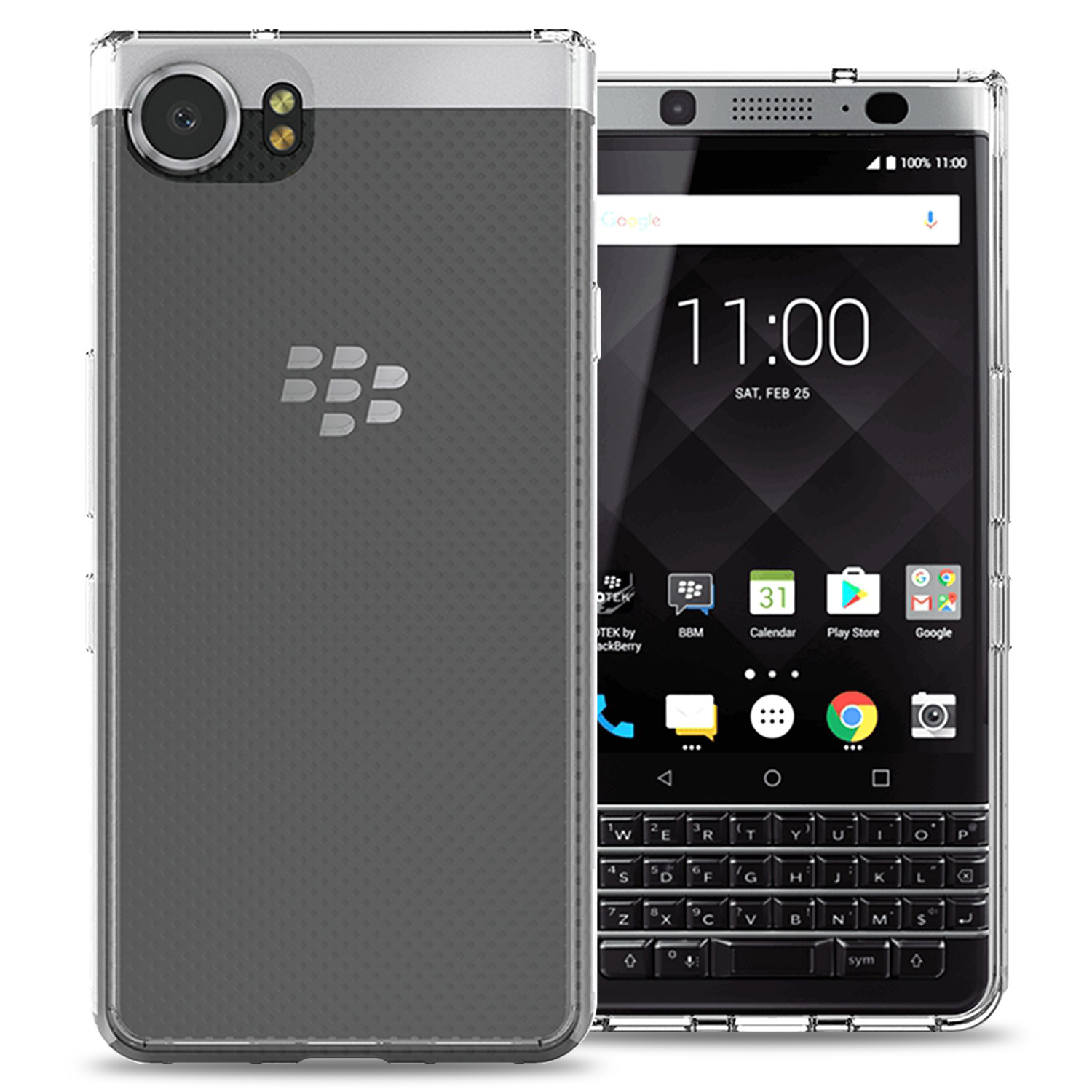 più economico 082be 2912e Details about For Blackberry KEYone Case Hard Back TPU Bumper Slim Hybrid  Phone Cover