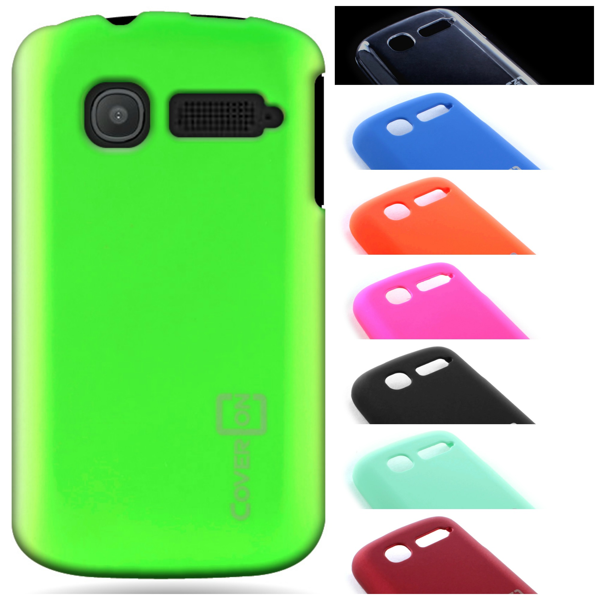 quality design 880cf bc85f For ALCATEL One Touch Pop C1 Case - Slim Rubberized Protective Phone ...