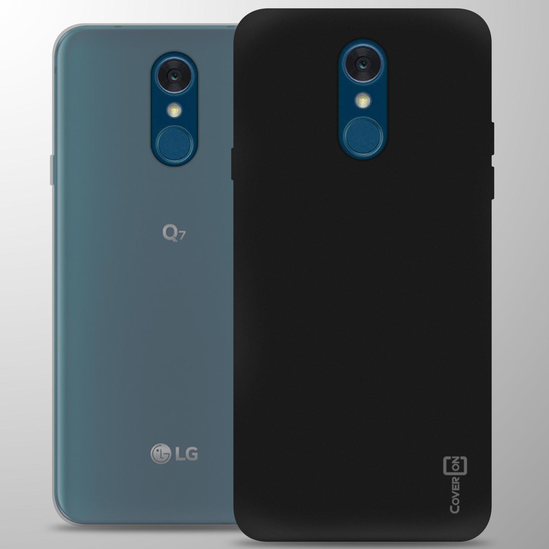 For LG Q7 / Q7 Plus / Q7 Alpha Case TPU Flexible Slim