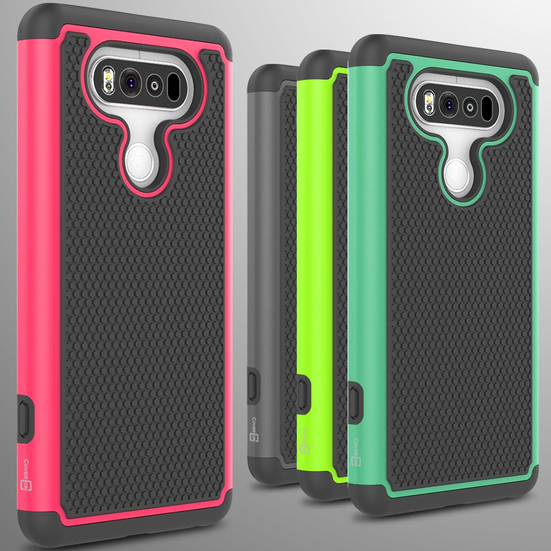 Dual Layer Protective Hard Hybrid Slim Enhanced Grip Phone