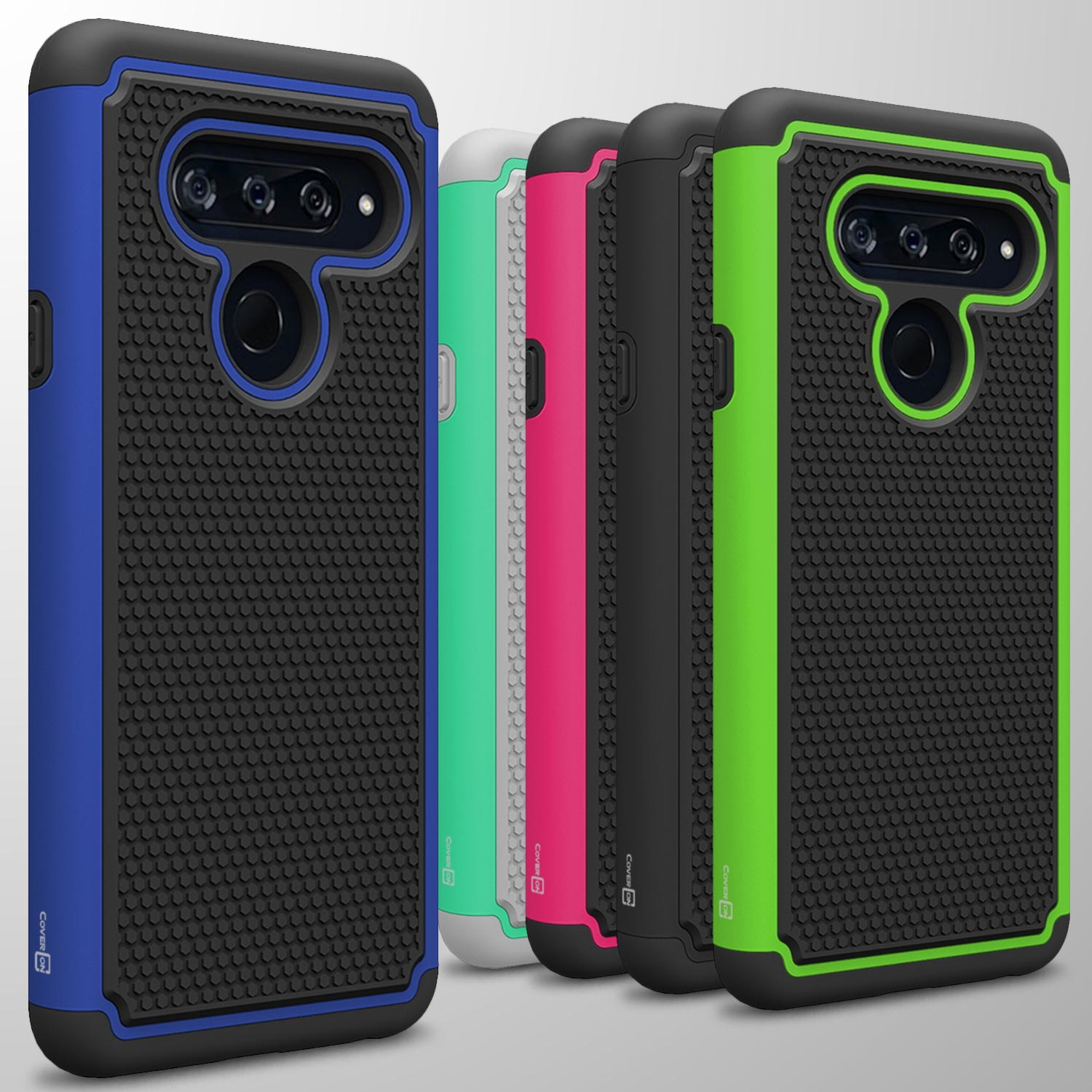 the best attitude 01ccf b2a51 For LG V40 ThinQ Case Tough Protective Hard Hybrid Shockproof Slim ...