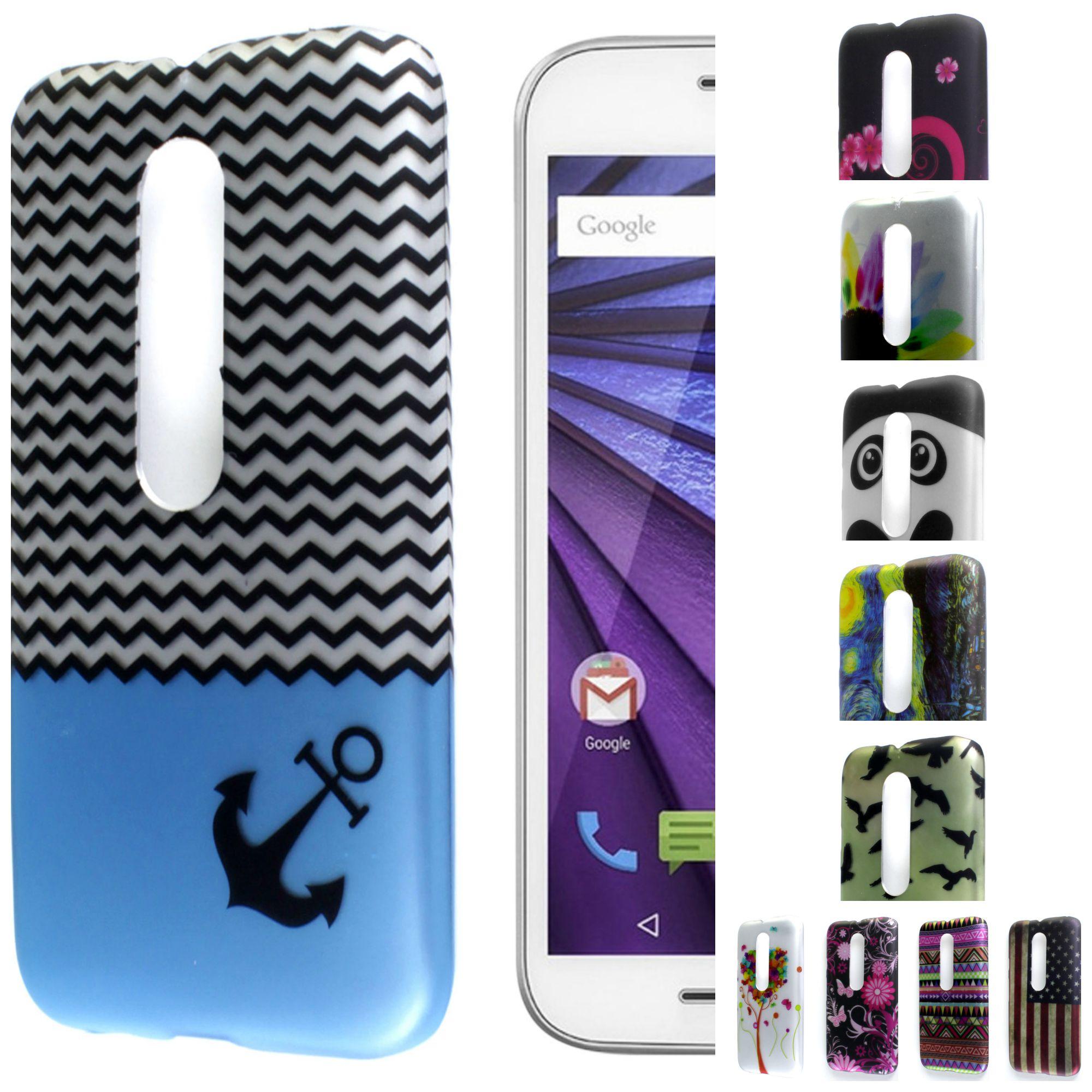 finest selection 34369 25057 Details about For Motorola Moto G (3rd Gen 2015) Case Hard Slim Design  Phone Cover Accessory
