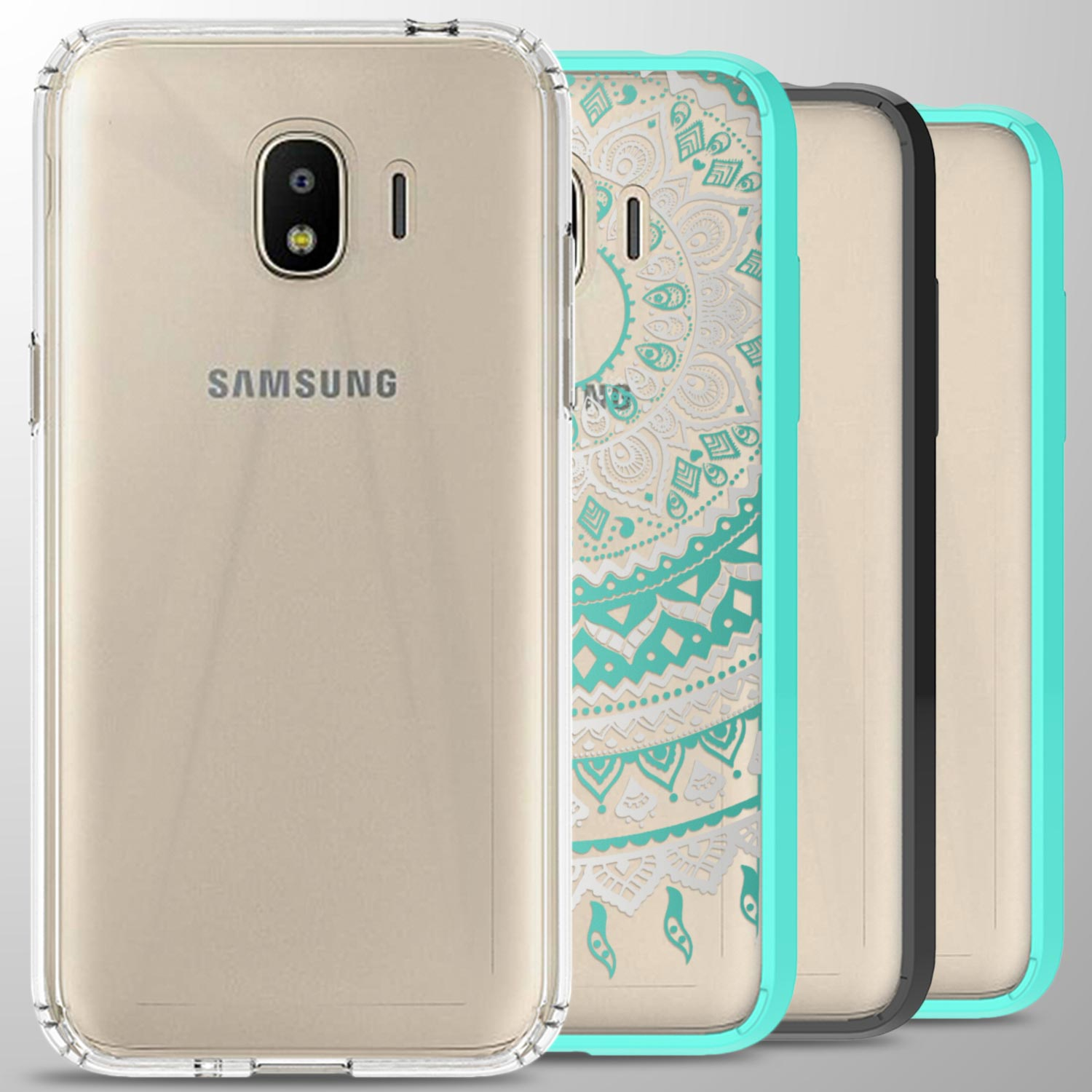 sneakers for cheap 7cc1b 86bf2 For Samsung Galaxy J2 Pro 2018 / Grand Prime Pro 2018 Case Hard Slim ...