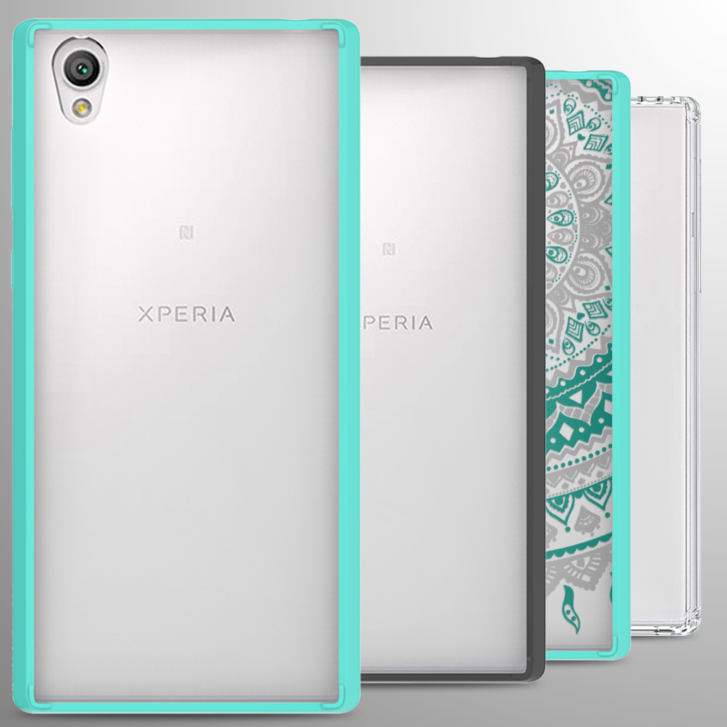 new style dbd7f 0d9d9 For Sony Xperia L1 Case Hard Back Bumper Slim Phone Cover   eBay