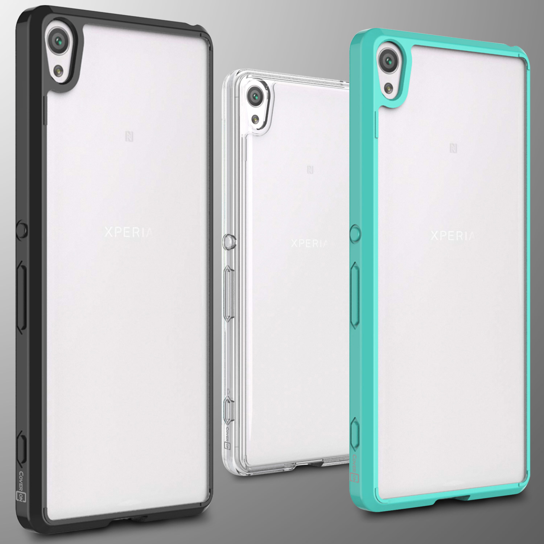 promo code b7e86 60a28 For Sony Xperia XA Case Hard Back Soft Bumper Hybrid Slim Cover | eBay