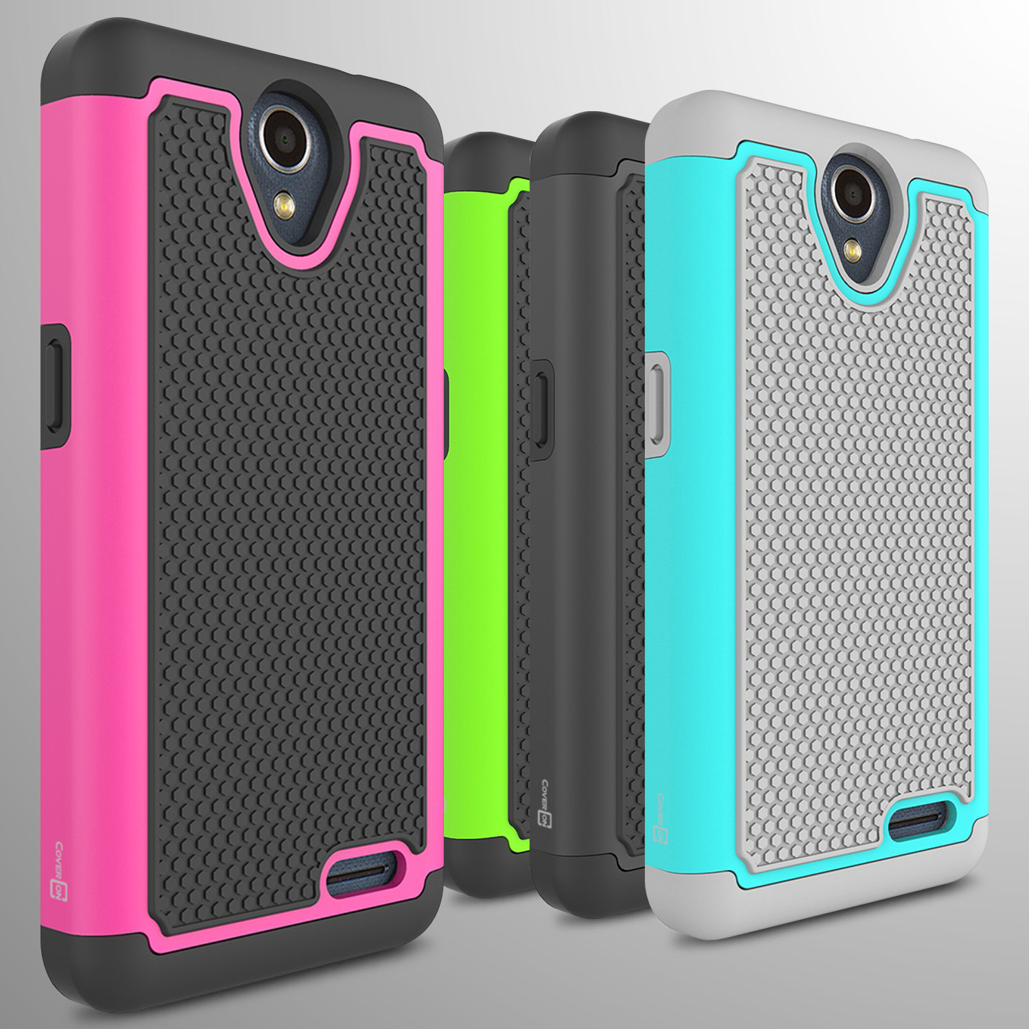 For ZTE Prestige 2 / Maven 3 / Overture 3 Case Tough Protective Hard