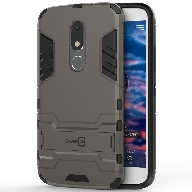 wholesale dealer 1cadd ee06f For Lenovo / Motorola Moto M Case Hard Kickstand Protective Phone ...