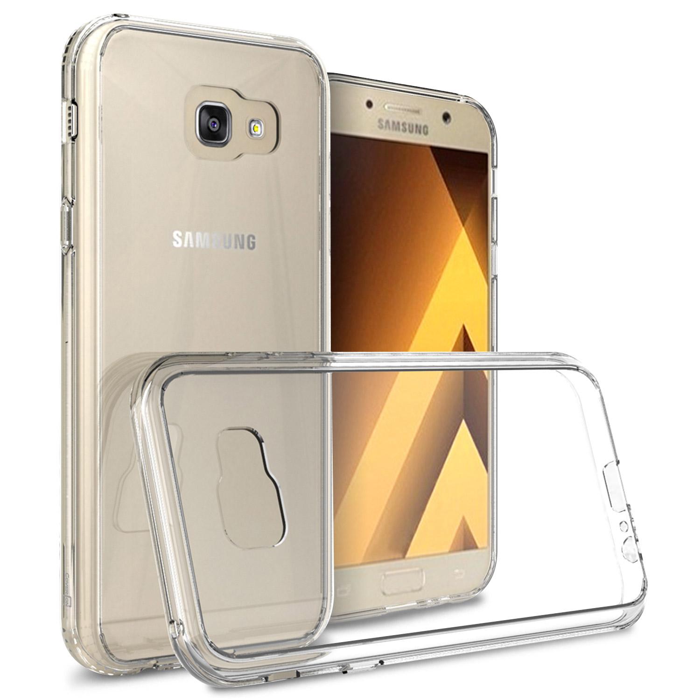 separation shoes eb36f 59b59 For Samsung Galaxy A7 2017 A720 Case Hard Back Soft Bumper Hybrid ...
