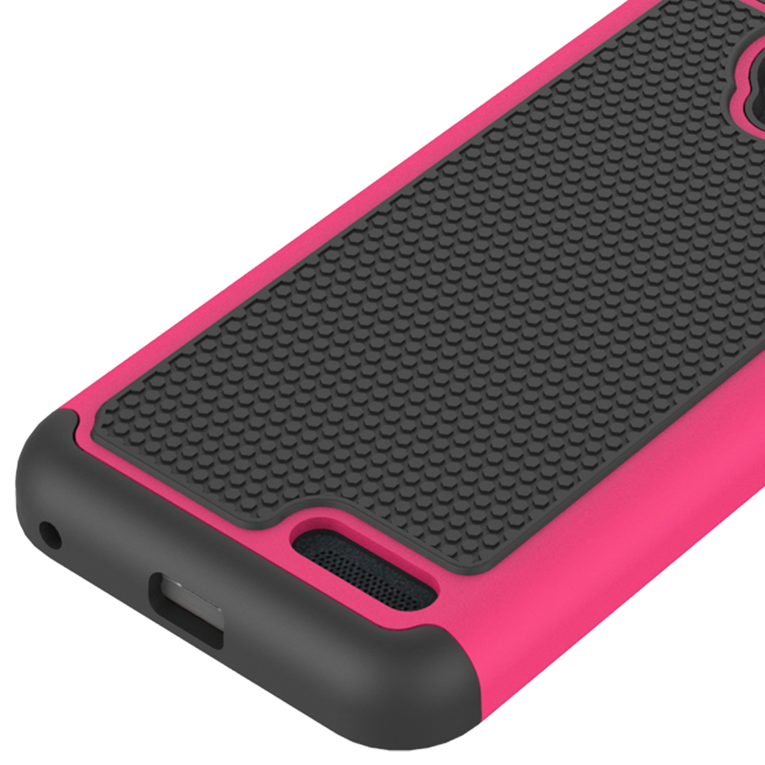 Pink-Hard-Case-for-ZTE-ZMax-Champ-ZMax-Grand-Avid-916-Hybrid-Phone-Cover