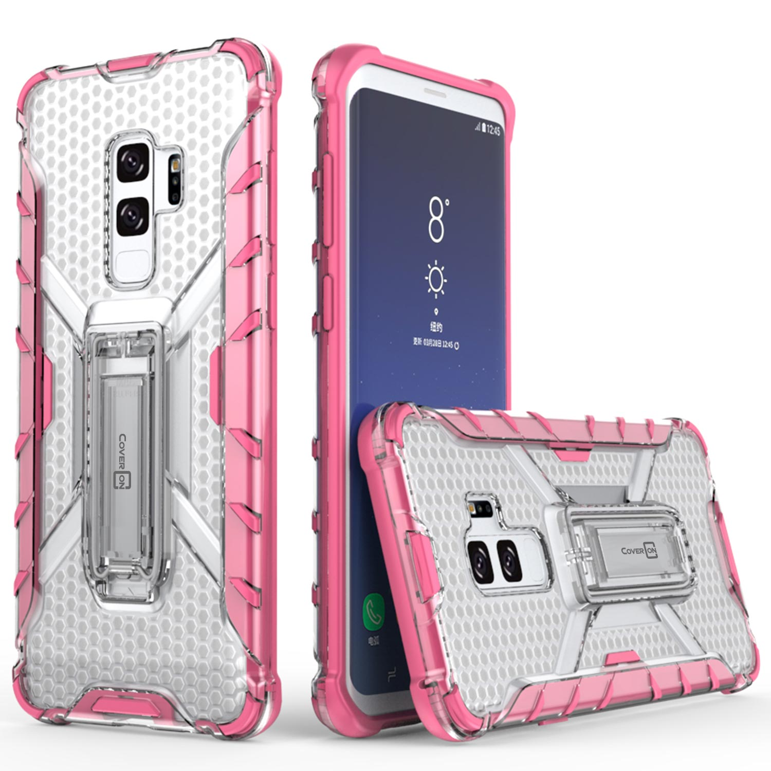 samsung s9 plus phone case pink
