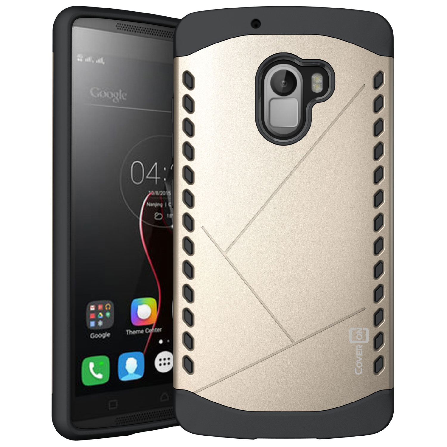 the latest c99f6 b02c8 Details about For Lenovo Vibe K4 Note Gold Case Slim Fit Hard Protective  Hybrid Phone Cover