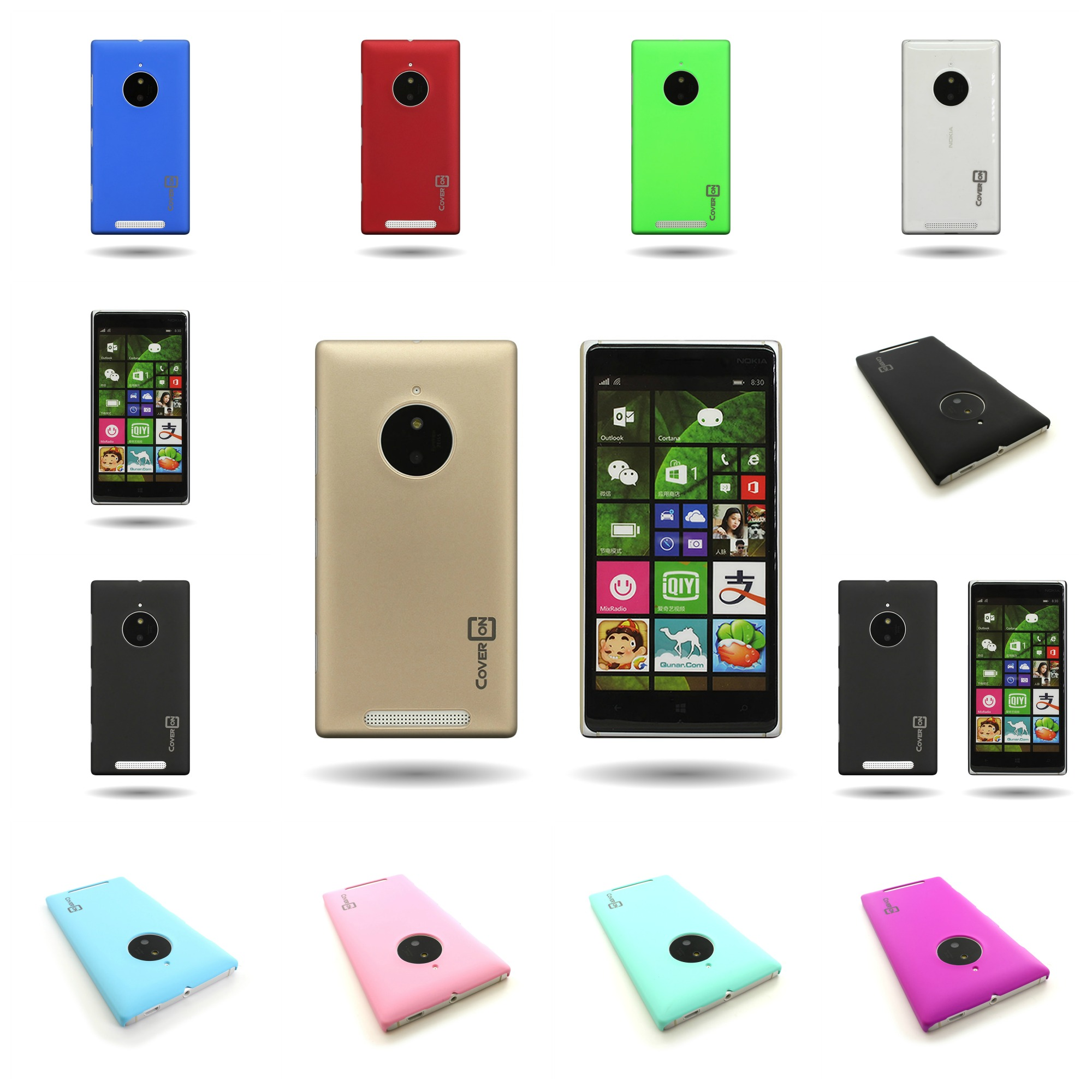 another chance db5e9 9f989 Details about For Nokia Lumia 830 - Slim Phone Case Protector Hard  Rubberized Back Cover Shell